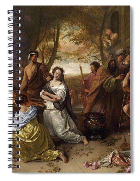 Sacrifice Of Iphigenia Spiral Notebook