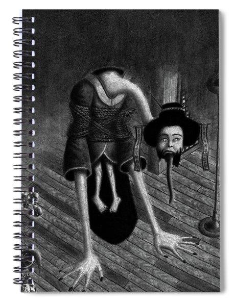Sacrificed Concubine Ghost - Artwork Spiral Notebook