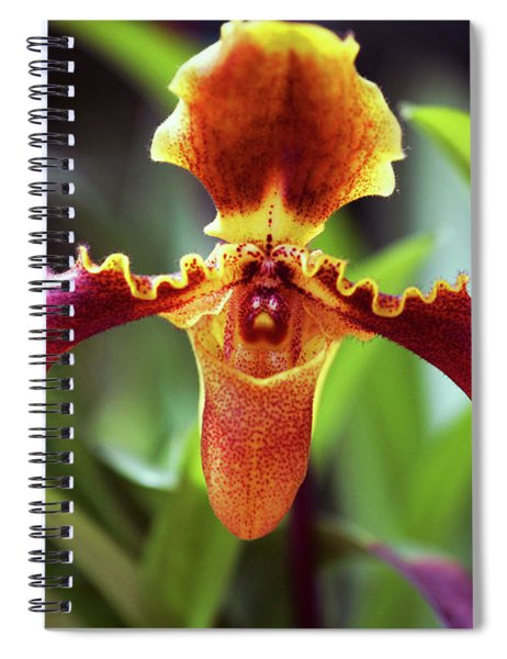 Sad Orchid Spiral Notebook