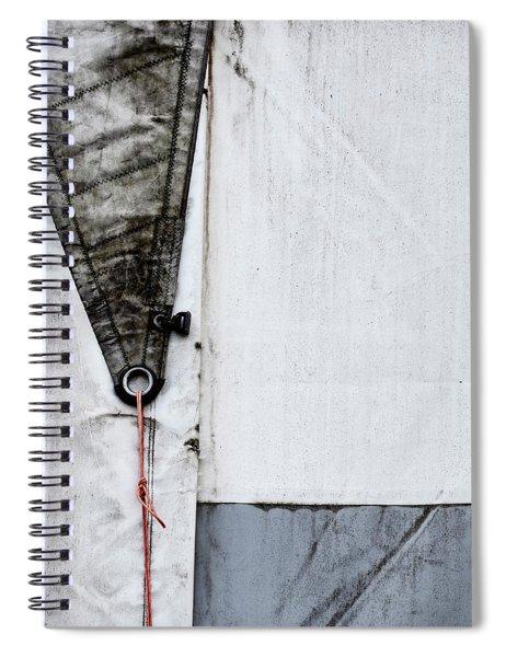 Sail Detail Spiral Notebook