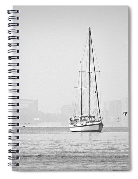Sail Out Of Sarasota Spiral Notebook