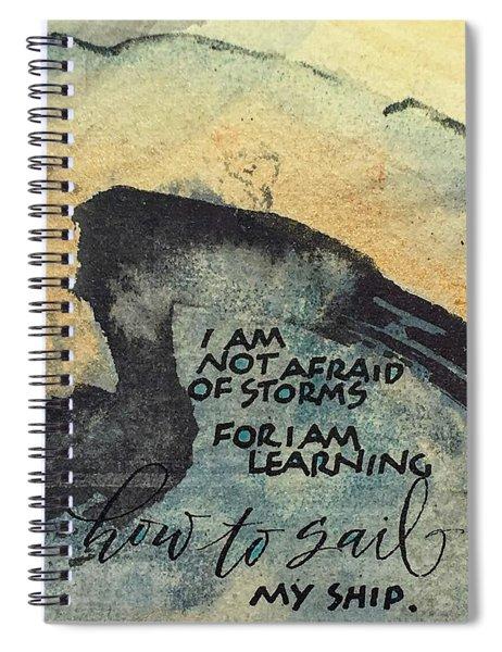 Sail Your Ship Spiral Notebook