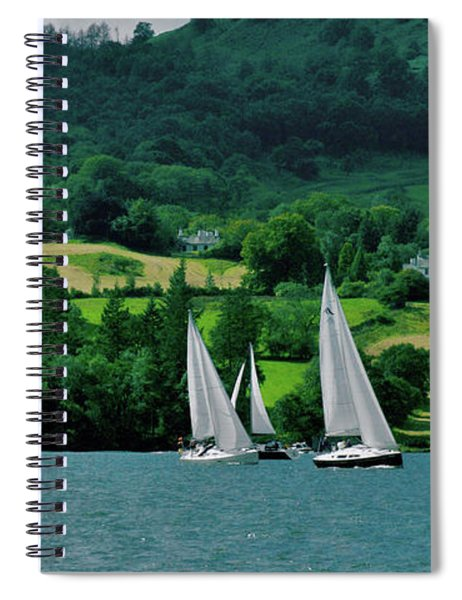 Sailing By Spiral Notebook