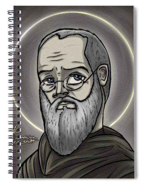 Saint Maximilian Mary Kolbe Spiral Notebook