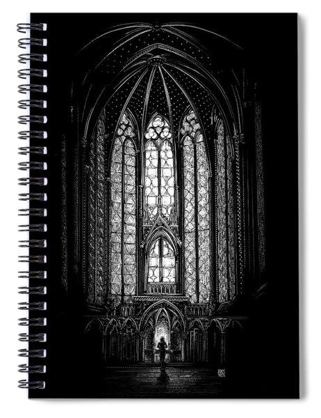 Sainte-chapelle Spiral Notebook