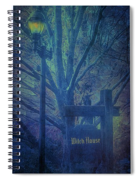 Salem Massachusetts  Witch House Spiral Notebook