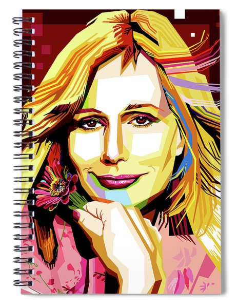 Sally Kellerman Spiral Notebook