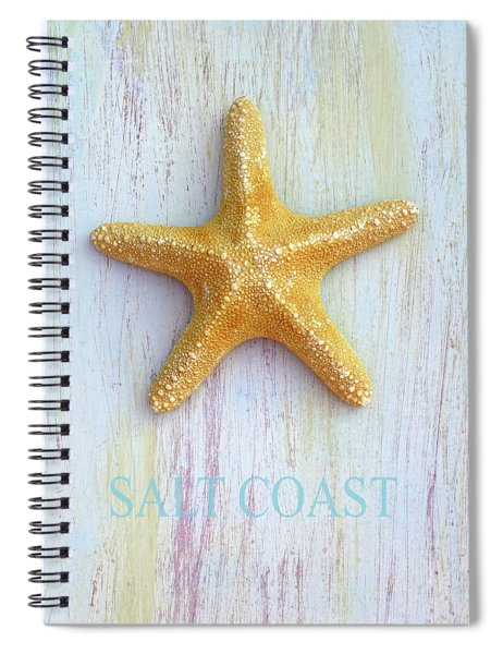 Salt Coast Spiral Notebook