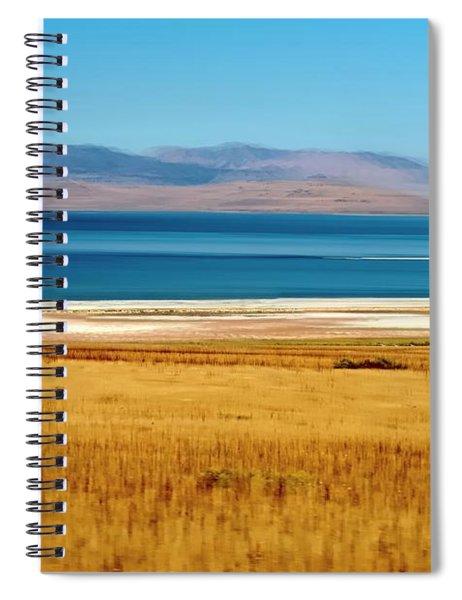 Salt Lake Abstract Spiral Notebook