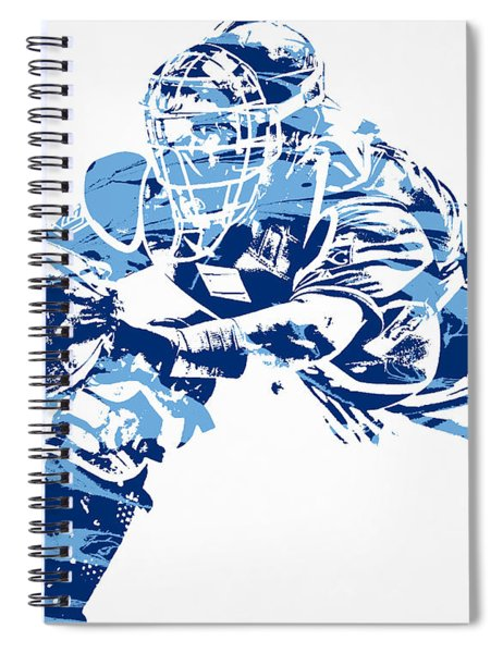 Salvador Perez Kansas City Royals Pixel Art 1 Spiral Notebook