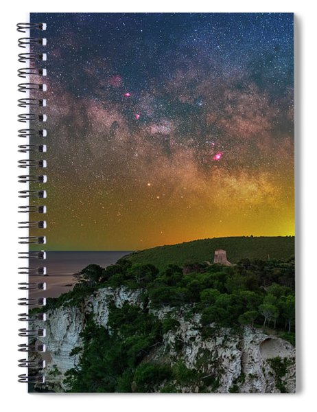 San Felice Arch And Tower Spiral Notebook