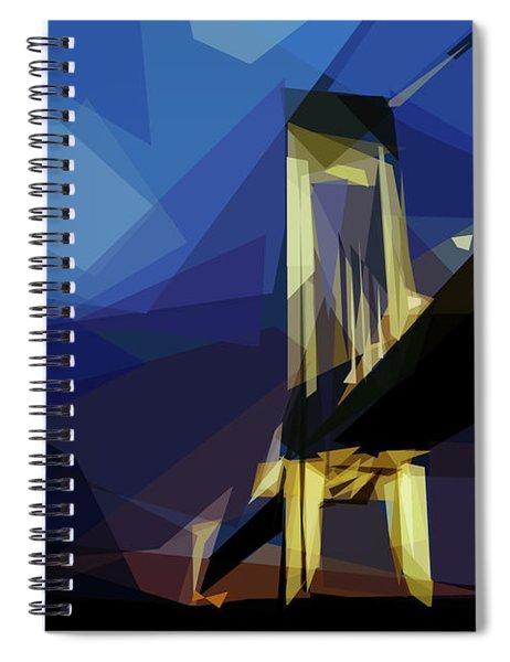 San Francisco Bridge Spiral Notebook