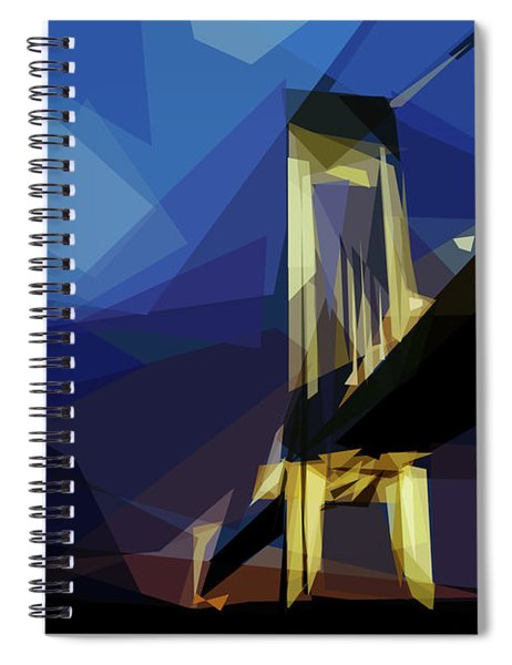 San Francisco Bridge Spiral Notebook by ISAW Company