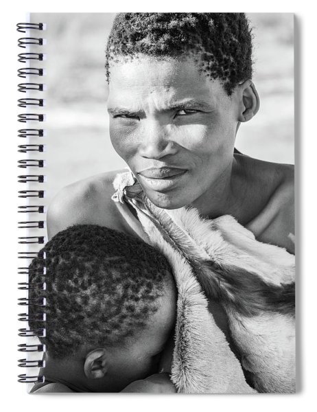 San Mother And Child Spiral Notebook