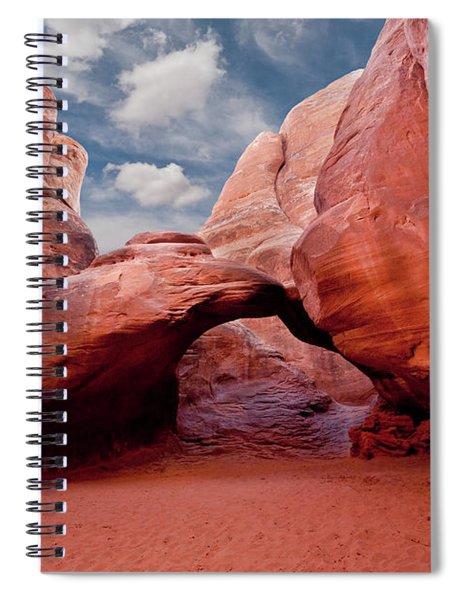 Sand Dune Arch Spiral Notebook