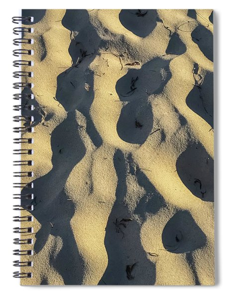 Sand Ripples Spiral Notebook