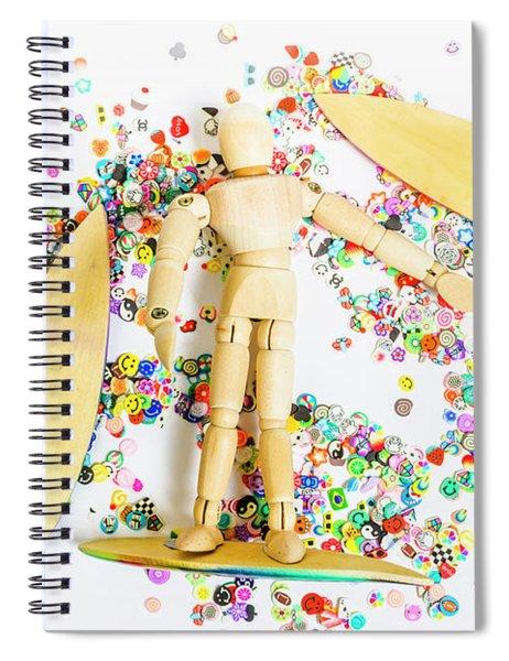Sandalwood Seas Spiral Notebook