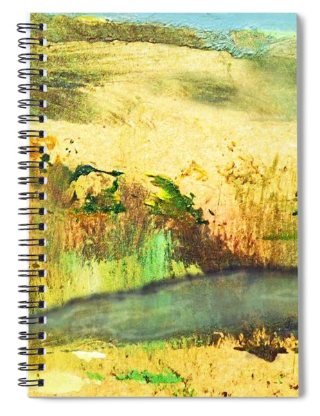 Sandy Landscape Spiral Notebook