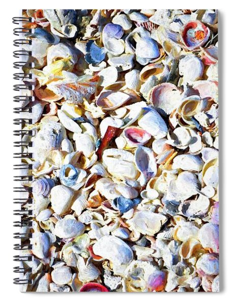 Sanibel Cushion Of Shells Spiral Notebook