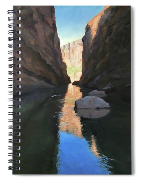 Santa Elena Canyon, Big Bend Spiral Notebook