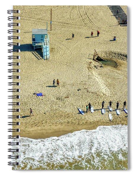 Santa Monica Beach 2 Spiral Notebook