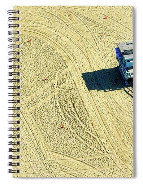 Santa Monica Beach 4 Spiral Notebook