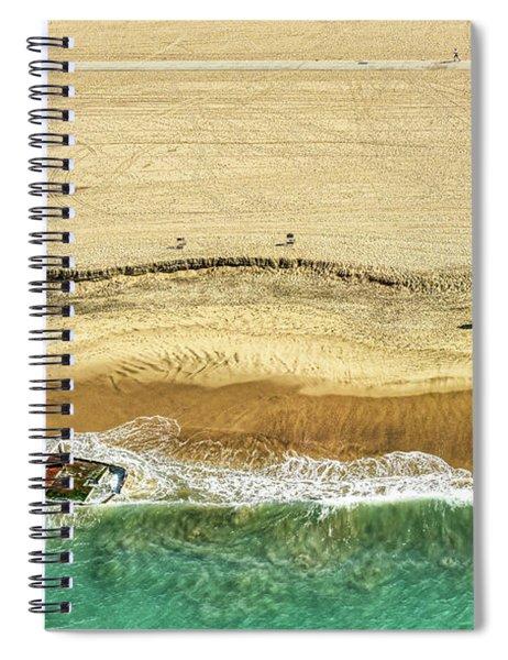 Santa Monica Beach 5 Spiral Notebook