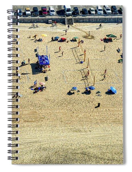 Santa Monica Beach 6 Spiral Notebook