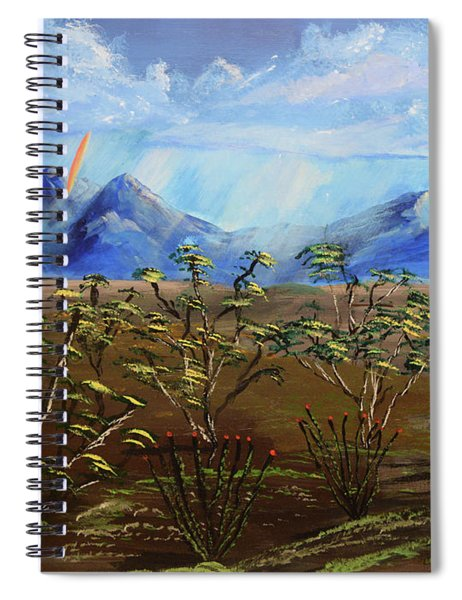 Santa Rita Glory Spiral Notebook