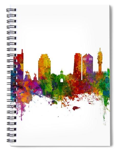 Santiago De Chile Skyline Spiral Notebook