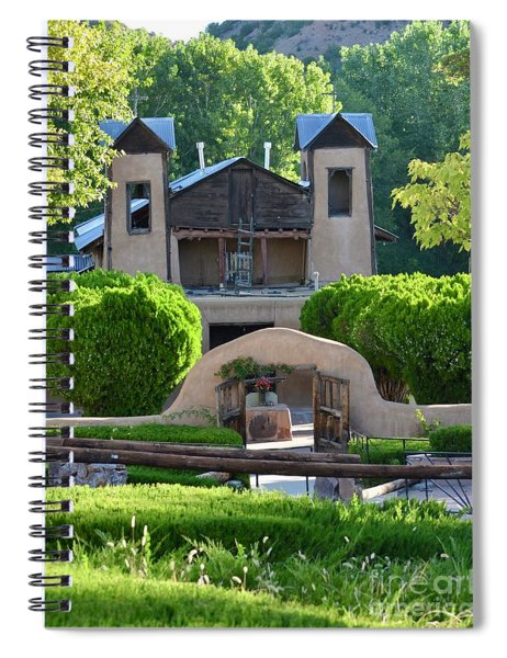 Santuario De Chimayo Church Spiral Notebook