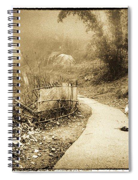 Sapa Dreams In Vietnam Spiral Notebook