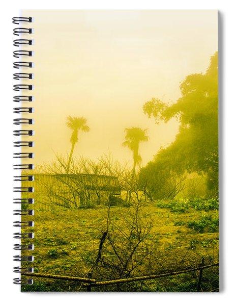 Sapa Landscape, Vietnam Spiral Notebook
