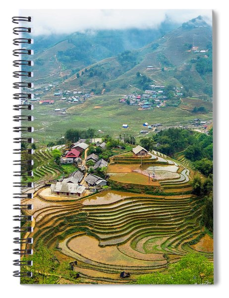 Sapa, Vietnam Landscape Spiral Notebook