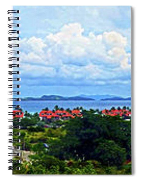 Sapphire Panorama Spiral Notebook