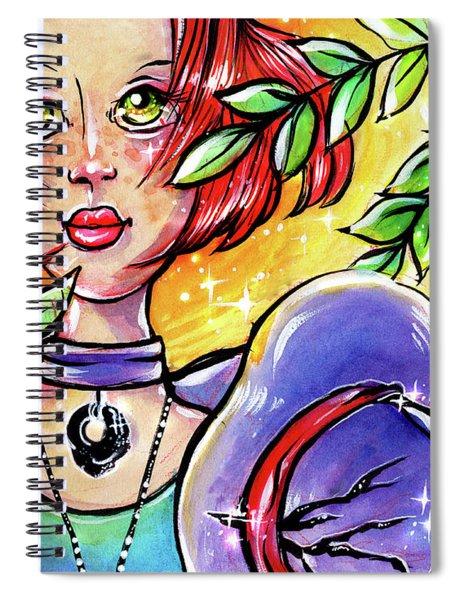 Sarahfina Sun Spiral Notebook