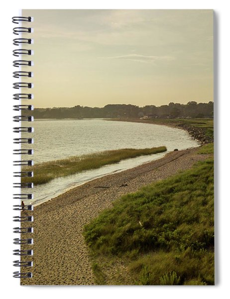 Sasco Beach, Fairfield, Ct Spiral Notebook