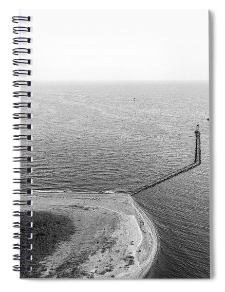 Sasco Beach Jetty Spiral Notebook