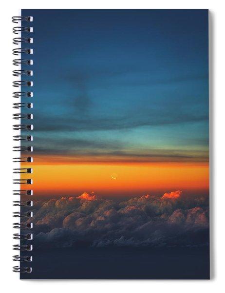 Satellite Spiral Notebook