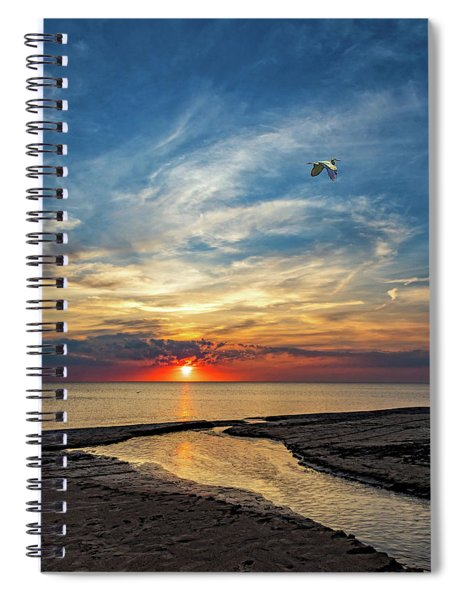 Sauble Beach Sunset - Heading Home Spiral Notebook