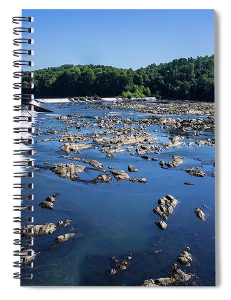 Savannah River Rapids - Augusta Ga 2 Spiral Notebook