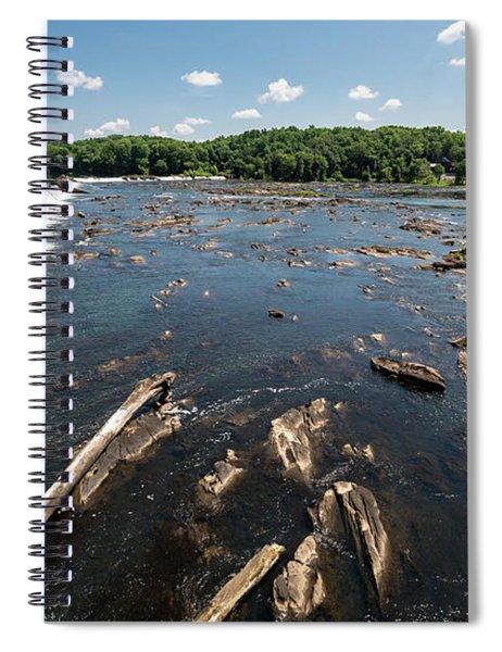 Savannah River Rapids - Augusta Ga Spiral Notebook