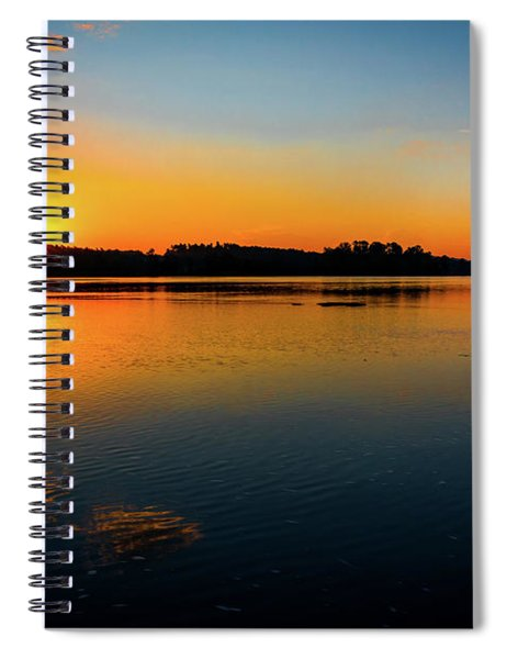 Savannah River Sunrise - Augusta Ga Spiral Notebook