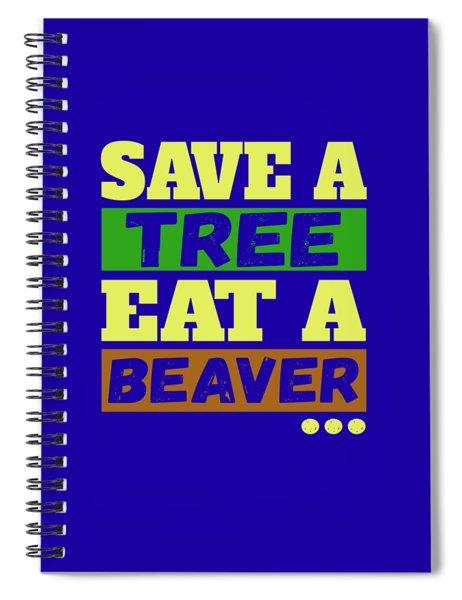 Save A Tree Spiral Notebook