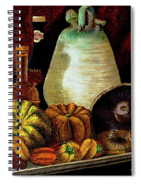 Savor Spiral Notebook