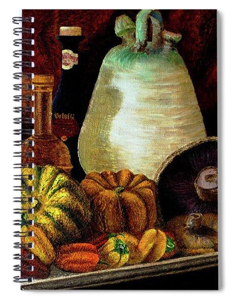 Savor Spiral Notebook