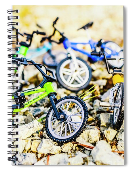 Scaled Mountain Adventure Spiral Notebook