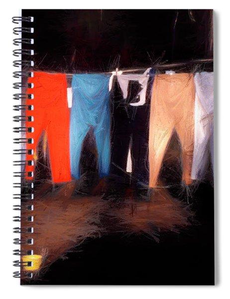 Scarecrows Dream Spiral Notebook