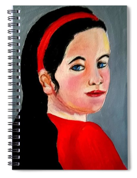 Scarlett Spiral Notebook