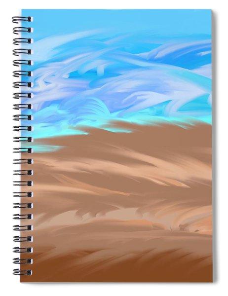 Scattered Mounts Spiral Notebook